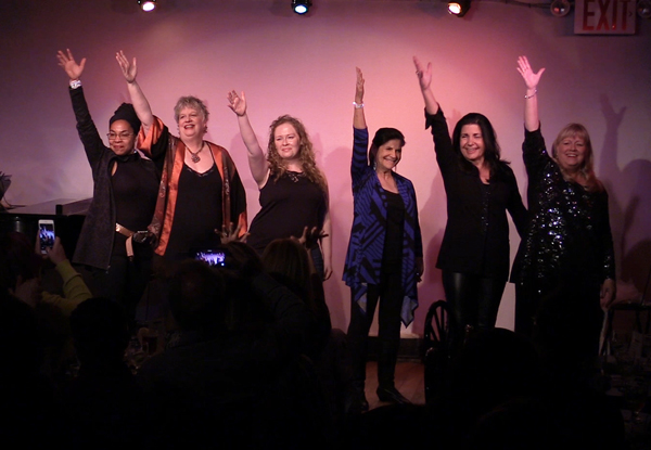 Let Me Entertain You - Feb 2016: Pauline Alperin, Deb Antari, Jen Davis, Maria Corsaro, Jo Jones & Linda Kahn